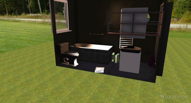 Raumgestaltung Badezimmer 1 in der Kategorie Ankleidezimmer
