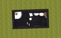 Raumgestaltung Badezimmer 2 in der Kategorie Ankleidezimmer
