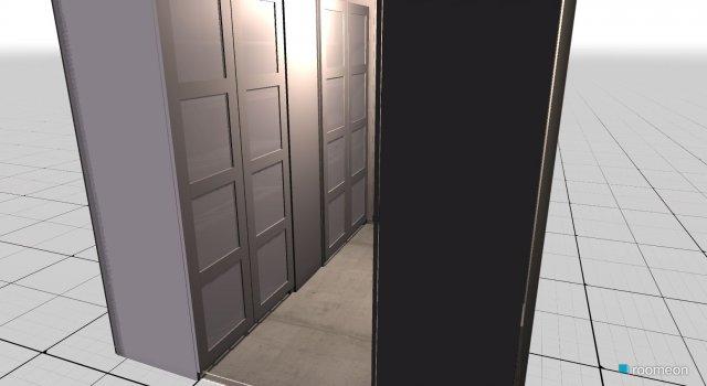 Raumgestaltung Begehbarer Schrank 1 in der Kategorie Ankleidezimmer
