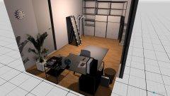 Raumgestaltung Büro und Schrank in der Kategorie Ankleidezimmer