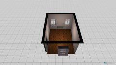 Raumgestaltung Durchgangszimmer in der Kategorie Ankleidezimmer