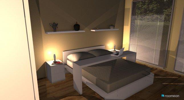 Raumgestaltung Elbestr. 18 Schlafzimmer in der Kategorie Ankleidezimmer
