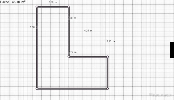 Raumgestaltung Erdgeschoss2 in der Kategorie Ankleidezimmer