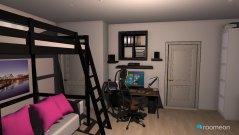 Raumgestaltung ganzeszimmer in der Kategorie Ankleidezimmer