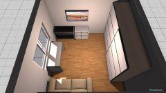 Raumgestaltung glos zimmer 2 in der Kategorie Ankleidezimmer