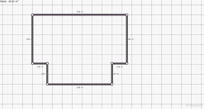 Raumgestaltung Grundriß Gartenhaus in der Kategorie Ankleidezimmer