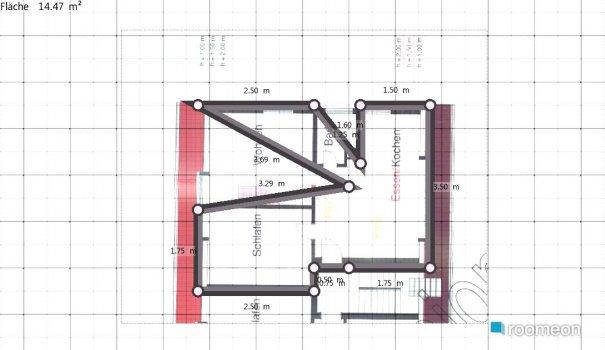 Raumgestaltung Grundriss h56 in der Kategorie Ankleidezimmer