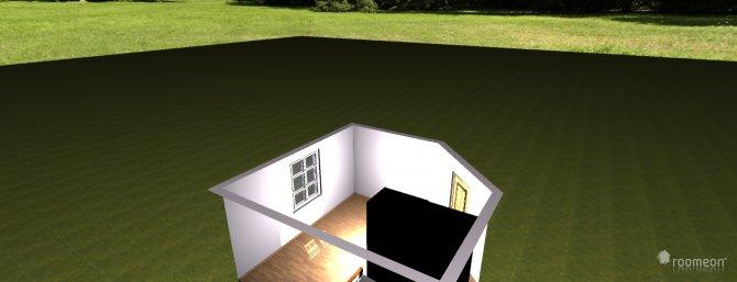 Raumgestaltung Grundrissvorlage Eckraum in der Kategorie Ankleidezimmer