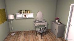 Raumgestaltung Grundrissvorlage Erker in der Kategorie Ankleidezimmer