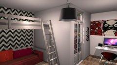 Raumgestaltung Grundrissvorlage L-Form in der Kategorie Ankleidezimmer