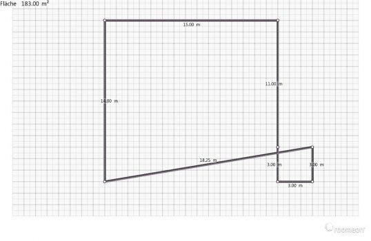 Raumgestaltung Grundrissvorlage Quadrat in der Kategorie Ankleidezimmer