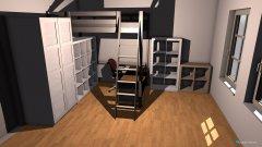 Raumgestaltung HALT DIE FRESSE in der Kategorie Ankleidezimmer