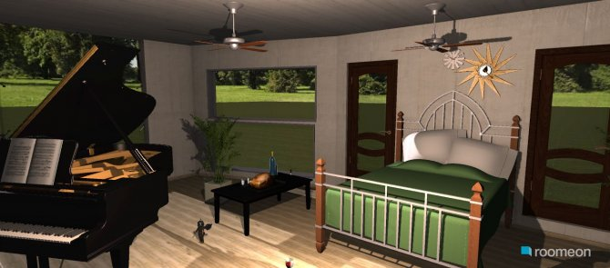 Raumgestaltung klavier in der Kategorie Ankleidezimmer