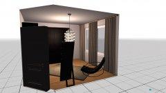Raumgestaltung KLEEDKAMER in der Kategorie Ankleidezimmer