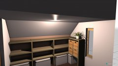 Raumgestaltung Kleiderkammer in der Kategorie Ankleidezimmer