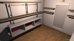Raumgestaltung Kleiderraum in der Kategorie Ankleidezimmer