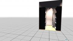 Raumgestaltung Kleiderschrank Max in der Kategorie Ankleidezimmer