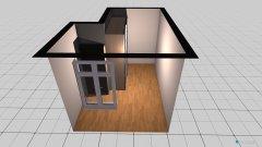 Raumgestaltung Kleines Zimmer als Ankleidezimmer in der Kategorie Ankleidezimmer