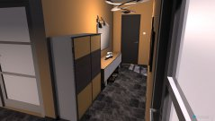 Raumgestaltung koridor in der Kategorie Ankleidezimmer