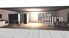 Raumgestaltung living in der Kategorie Ankleidezimmer