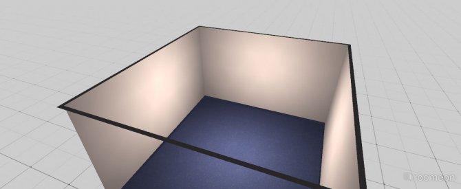 Raumgestaltung mein zimmer in der Kategorie Ankleidezimmer