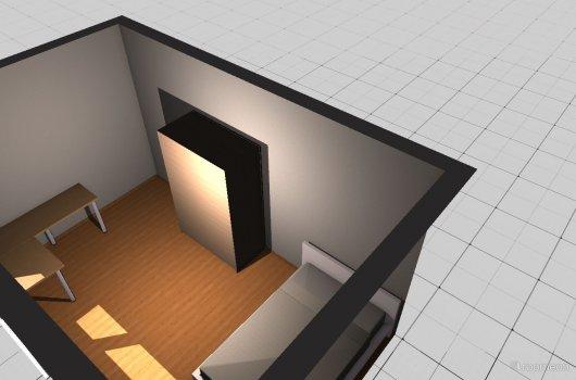 Raumgestaltung meinZimmer!15qm in der Kategorie Ankleidezimmer