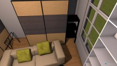 Raumgestaltung mit hochbett in der Kategorie Ankleidezimmer