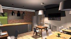 Raumgestaltung pizzeria in der Kategorie Ankleidezimmer
