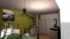 Raumgestaltung schlaf2 in der Kategorie Ankleidezimmer