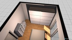 Raumgestaltung Schlafzimmer 1 in der Kategorie Ankleidezimmer