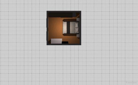 Raumgestaltung Schlafzimmer2 in der Kategorie Ankleidezimmer