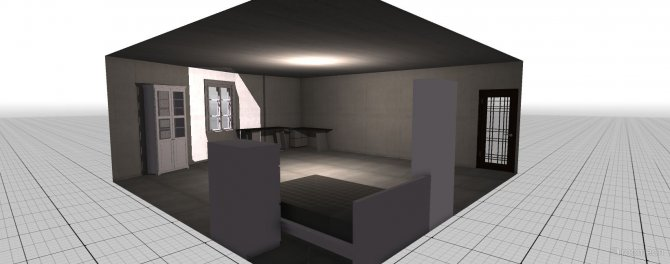 Raumgestaltung schlafzimmer in der Kategorie Ankleidezimmer