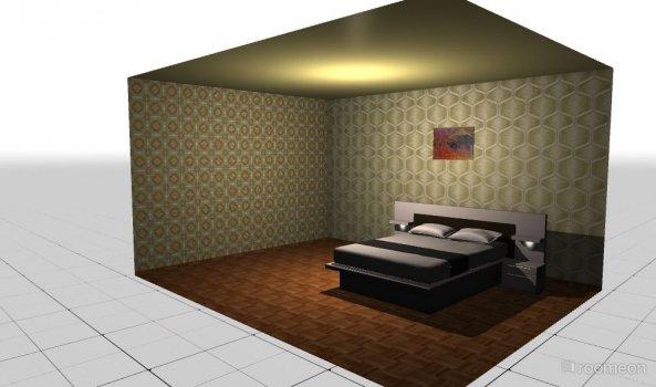 Raumgestaltung schlafzmmer in der Kategorie Ankleidezimmer
