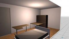 Raumgestaltung Schrankzimmer in der Kategorie Ankleidezimmer