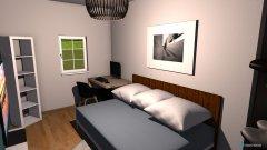 Raumgestaltung Studentenzimmer_12qm in der Kategorie Ankleidezimmer