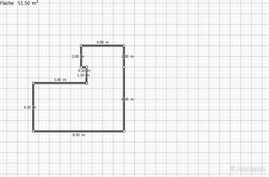 Raumgestaltung Wohnküche in der Kategorie Ankleidezimmer