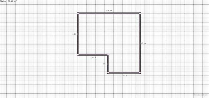 Raumgestaltung wohnzimmer_kueche in der Kategorie Ankleidezimmer
