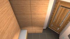 Raumgestaltung Zádvero in der Kategorie Ankleidezimmer