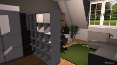 Raumgestaltung zimmer 1zu1 sherin in der Kategorie Ankleidezimmer