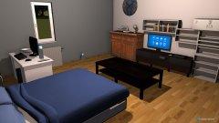 Raumgestaltung Zimmer (Erster Versuch) in der Kategorie Ankleidezimmer