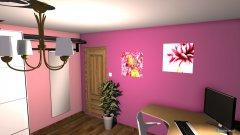 Raumgestaltung Zimmer Steffi (1. OG Zimmer II) in der Kategorie Ankleidezimmer