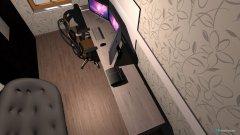 Raumgestaltung Zockerzimmer in der Kategorie Ankleidezimmer