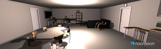 Raumgestaltung 3D Animation Rettungswache Cheruskerring in der Kategorie Arbeitszimmer