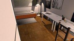 Raumgestaltung 3x6 Jugendzimmer in der Kategorie Arbeitszimmer