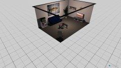Raumgestaltung addis zimmer in der Kategorie Arbeitszimmer