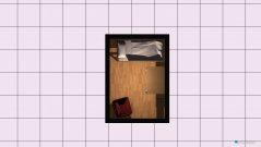 Raumgestaltung Alena Zimmer in der Kategorie Arbeitszimmer