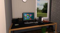 Raumgestaltung Alex Büro in der Kategorie Arbeitszimmer