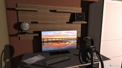 Raumgestaltung Alex Projekt in der Kategorie Arbeitszimmer