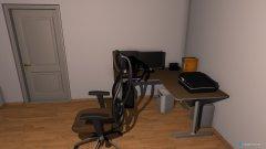Raumgestaltung alex Zimmer in der Kategorie Arbeitszimmer