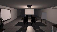 Raumgestaltung Amensic Büro in der Kategorie Arbeitszimmer